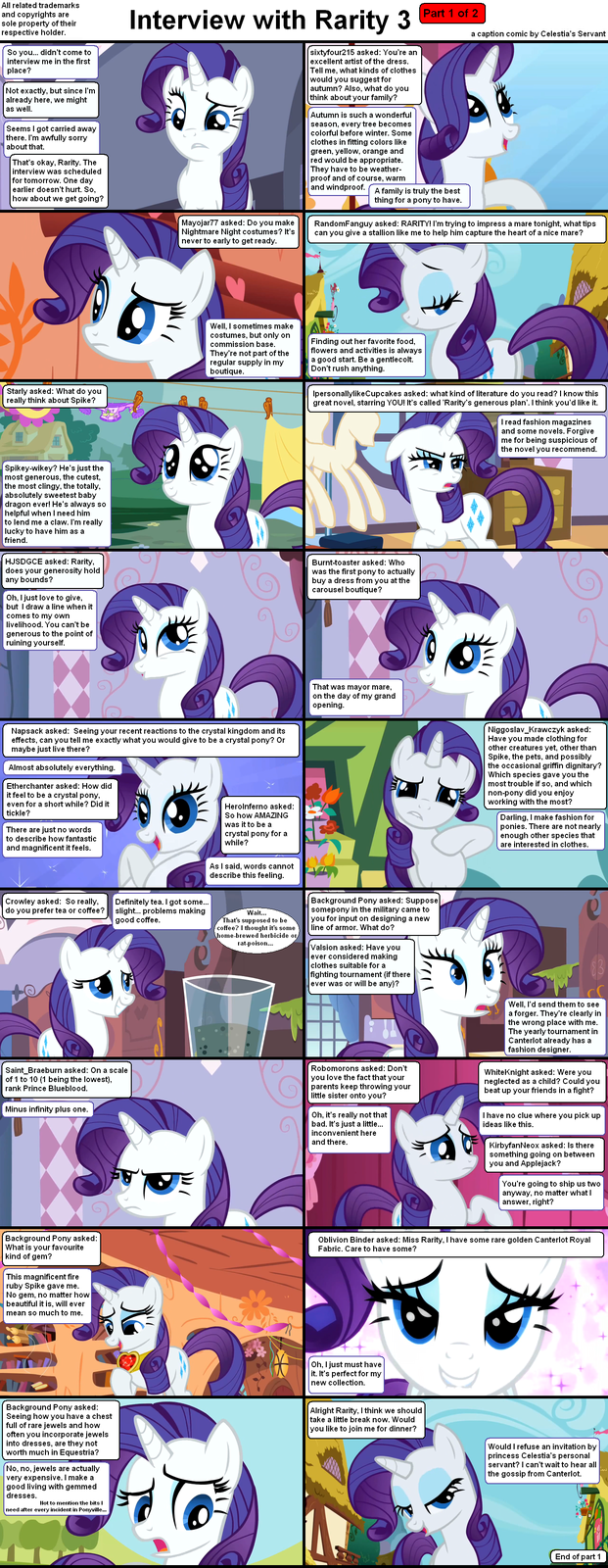 Interview with Rarity 3