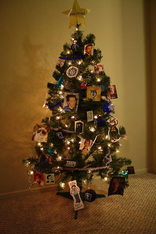 Tumblr Christmas Tree