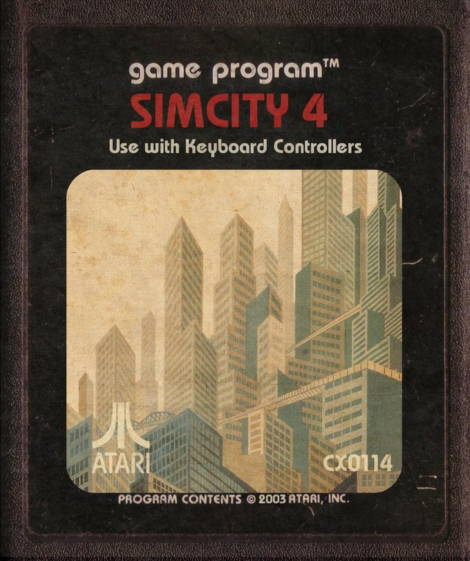 SimCity for the Atari