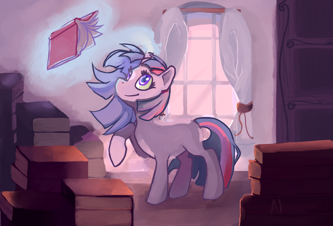 Organisation Day in the Canterlot Library