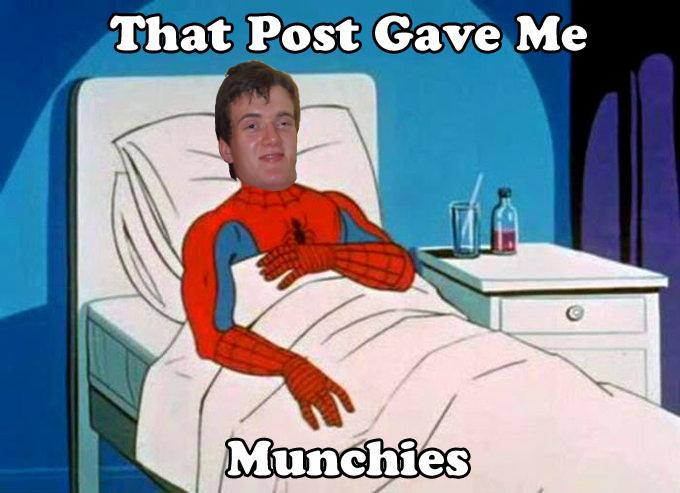 That Post Gave Me Munchies