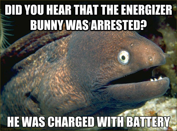 Bad Joke Electric Eel