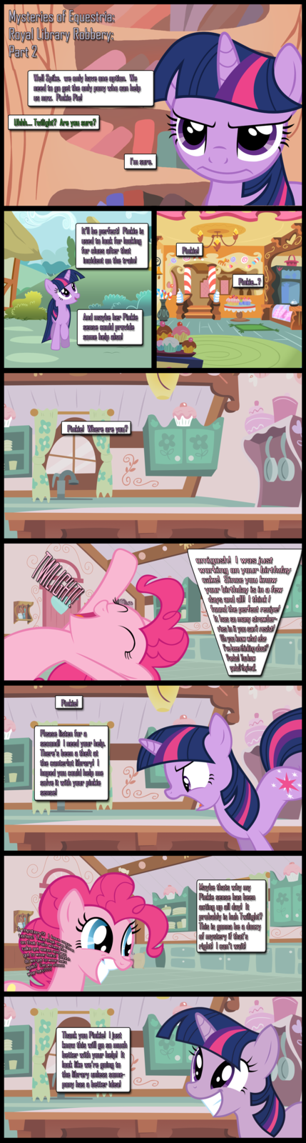 Mysteries of Equestria: Library Robbery: Part 2