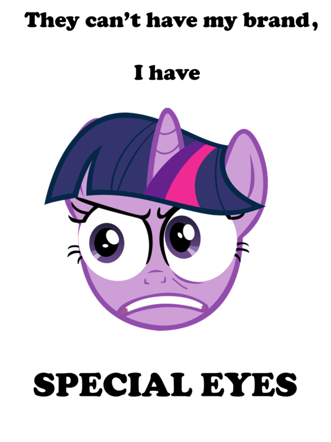 Twilight has special eyes