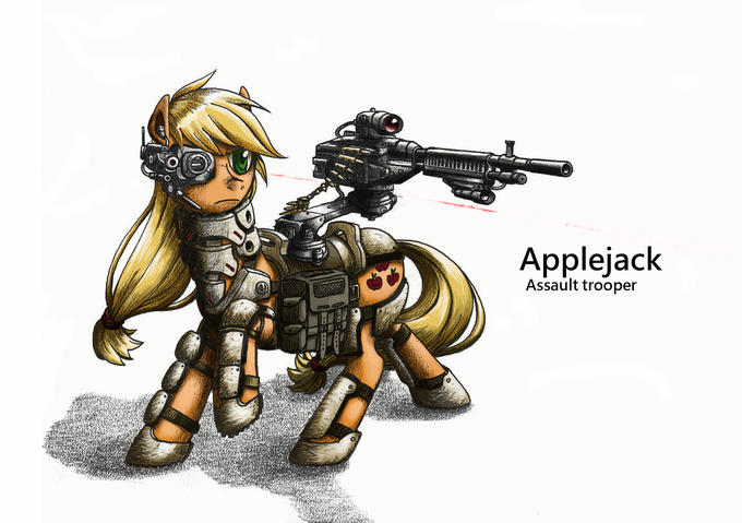 assault trooper applejack