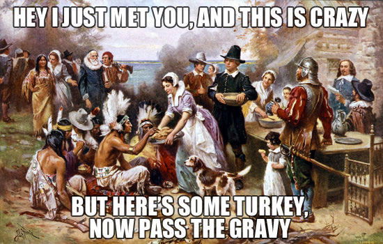 Call Me Maybe: First Thanksgiving Edition