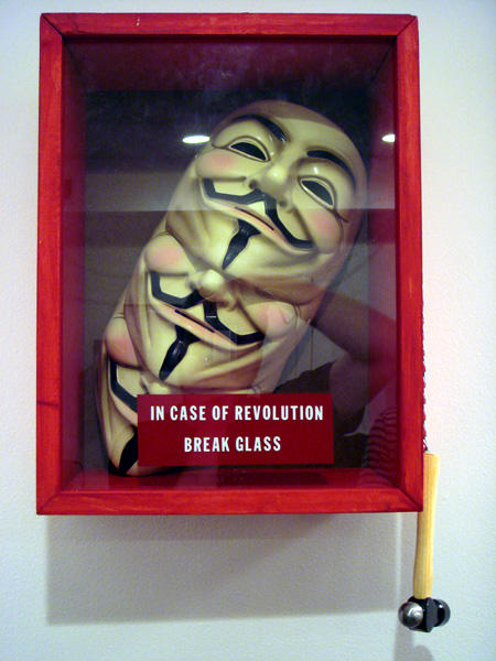 In case of revolution, break glass.