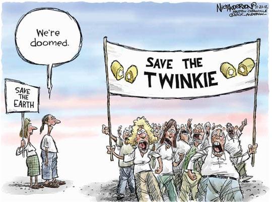 Save The Twinkies Comic