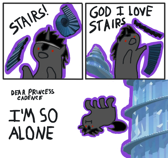 I F**KING LOVE STAIRS
