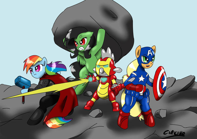My Little Avengers:Destruction is Magic