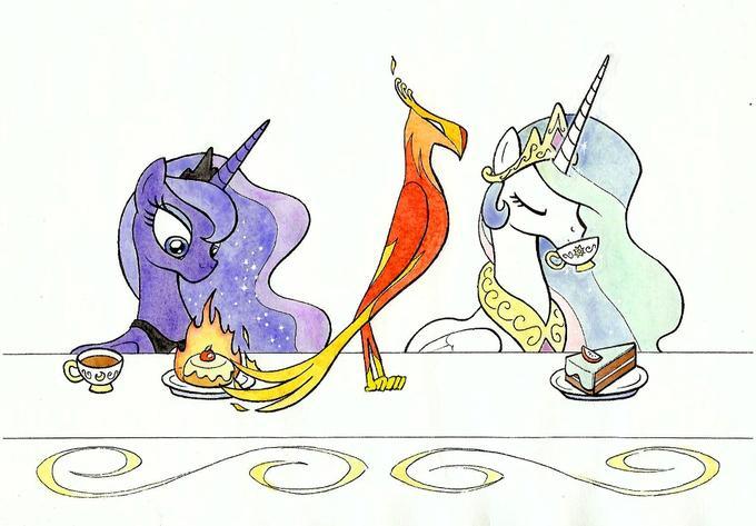 At the Royal Table