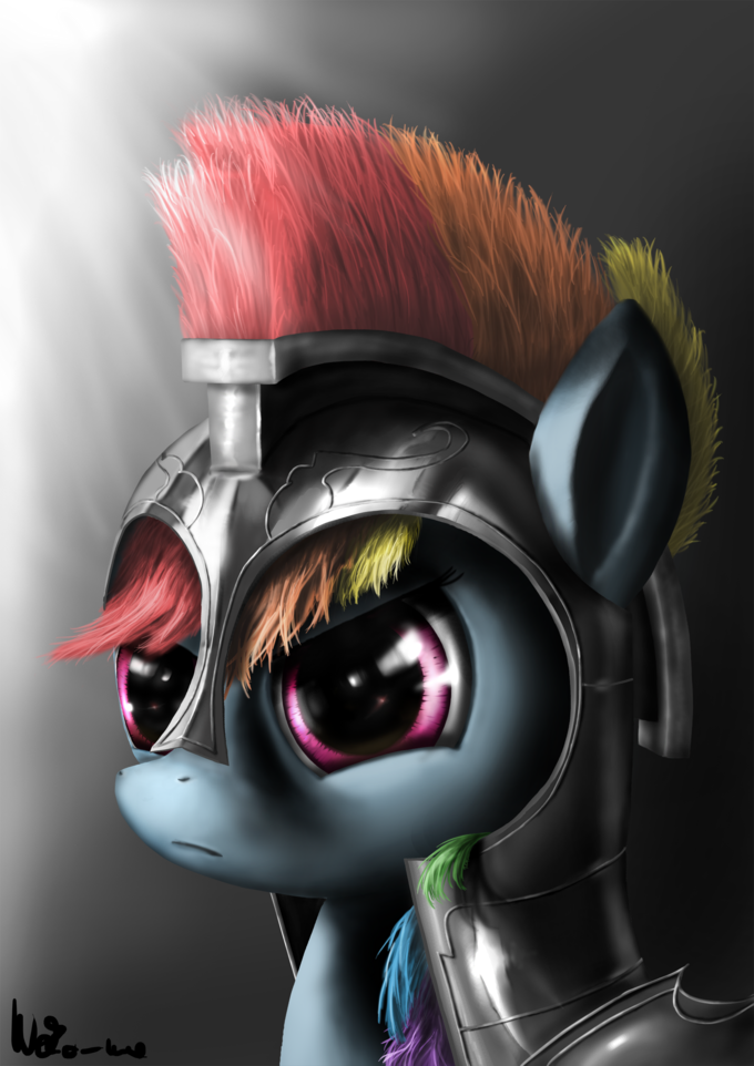 Commander Rainbow Dash
