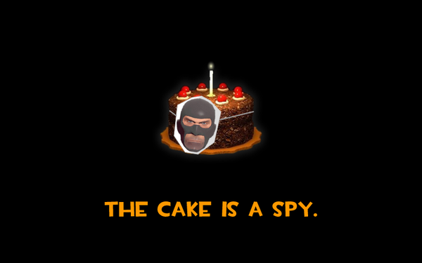 The Cake Is A Spy