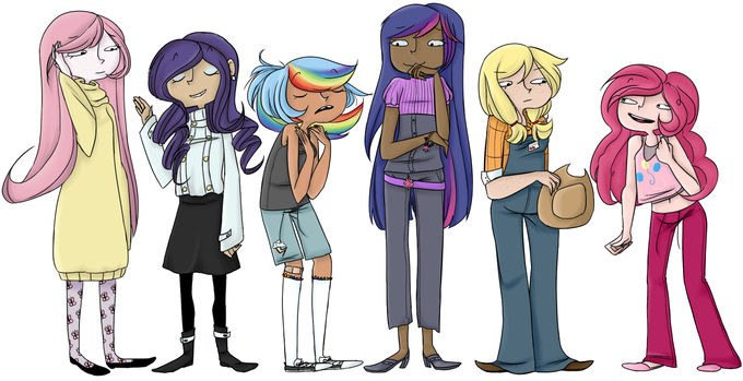 Ponies that aren't actually ponies