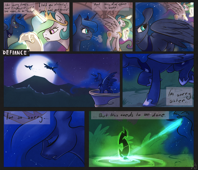 Jesus Christ, Luna, you had one job.