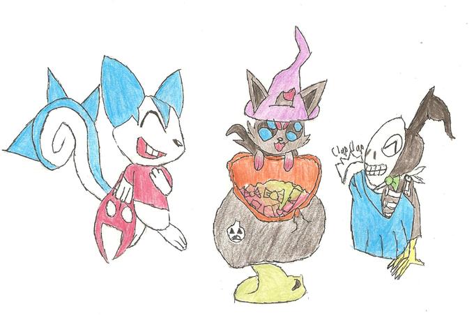 The Kids of Halloween