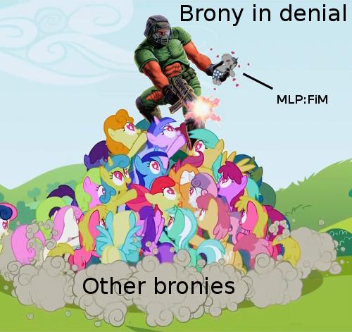 Brony in denial