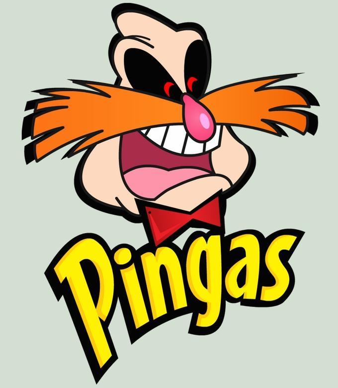 Pingas...PRINGLES STYLE