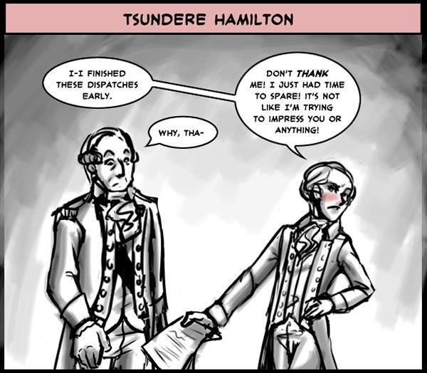 Tsundere Hamilton