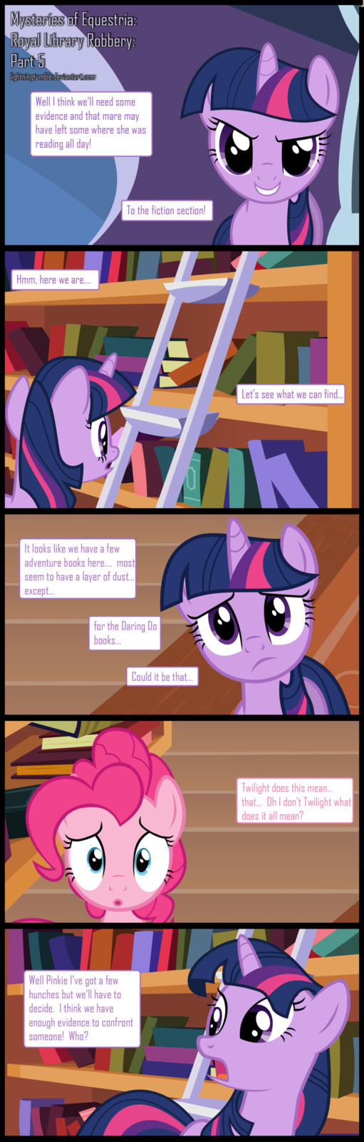 Mysteries of Equestria: Library Robbery: Part 5