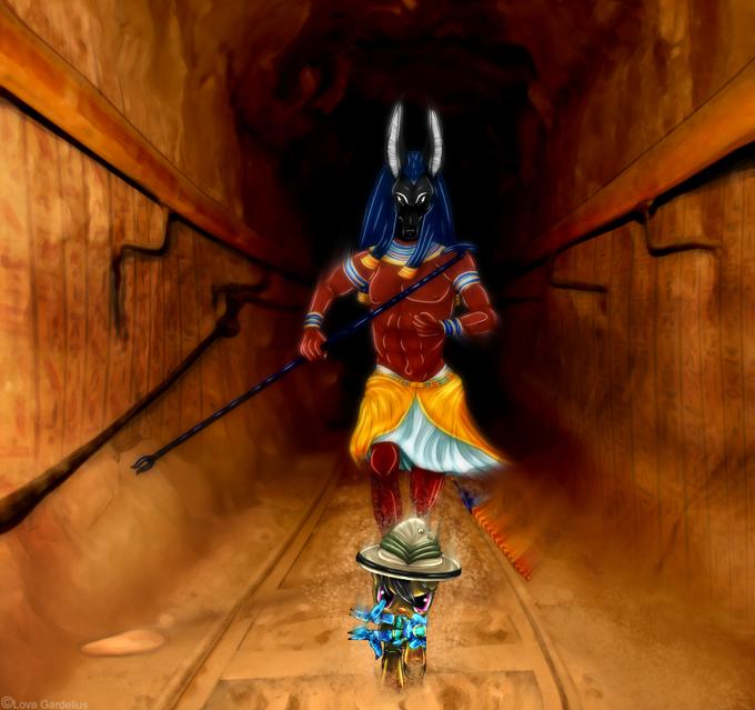 Daring Do VS Anubis