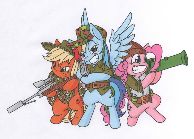 Delta Pony Force