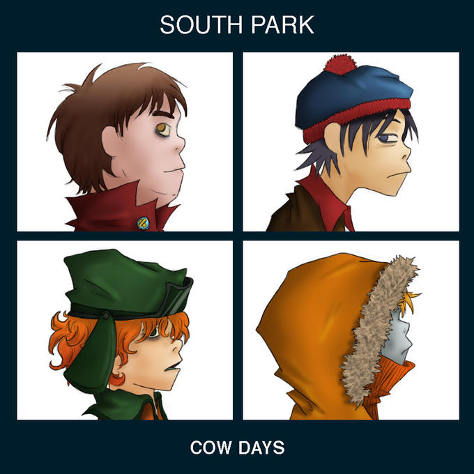 South Park Gorillaz