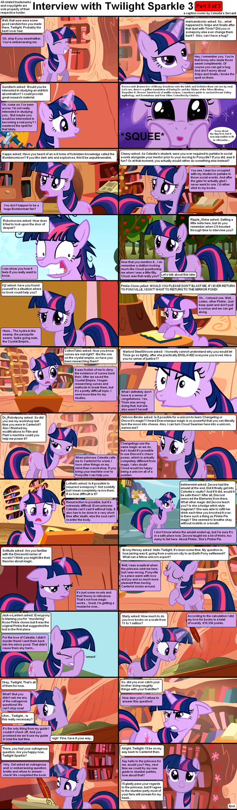 Interview with Twilight Sparkle 3