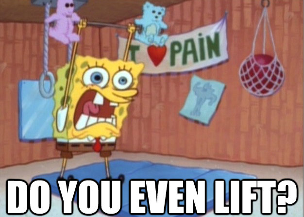 Spongebob Lifts