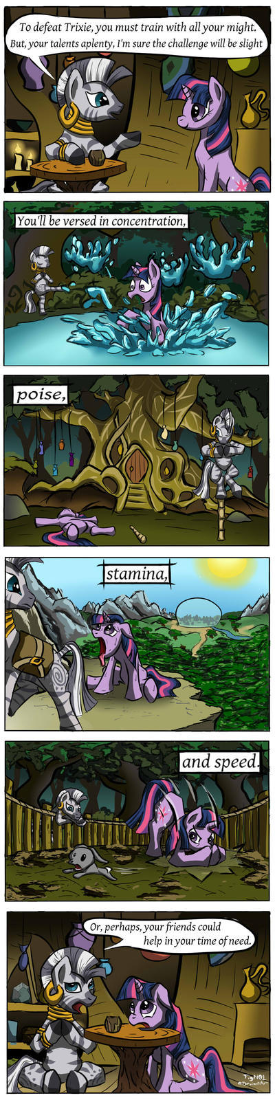 Twilight's Training Montage