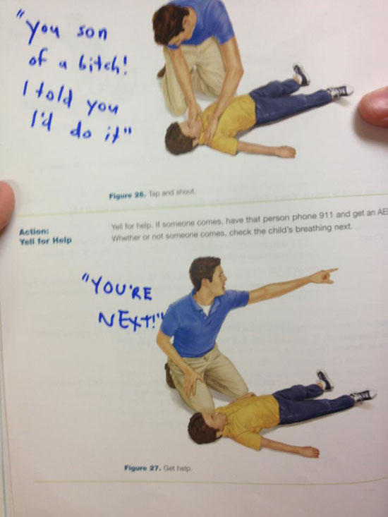 Modified CPR instructions