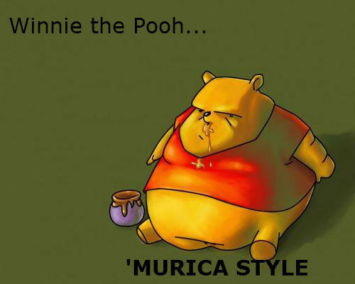 Winnie the Pooh 'Murica Style