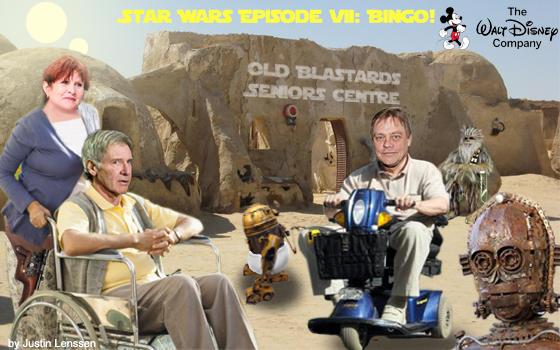 Star Wars Episode 7: Bingo!