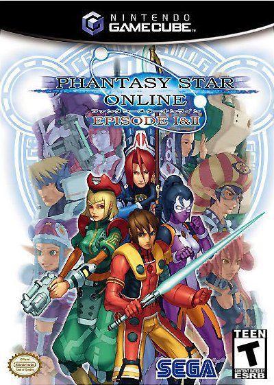 Phantasy Star Online Episode 1&2 For Gamecube