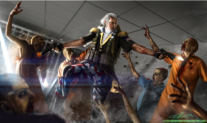 George Washington Zombie Hunter