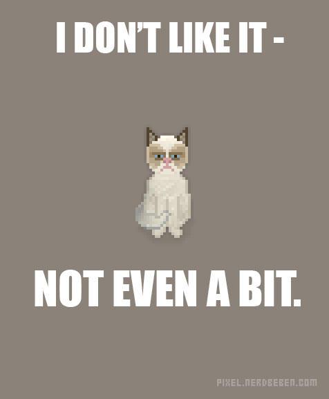 8-Bit Grumpy Cat