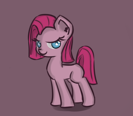 Pinkamena Filly