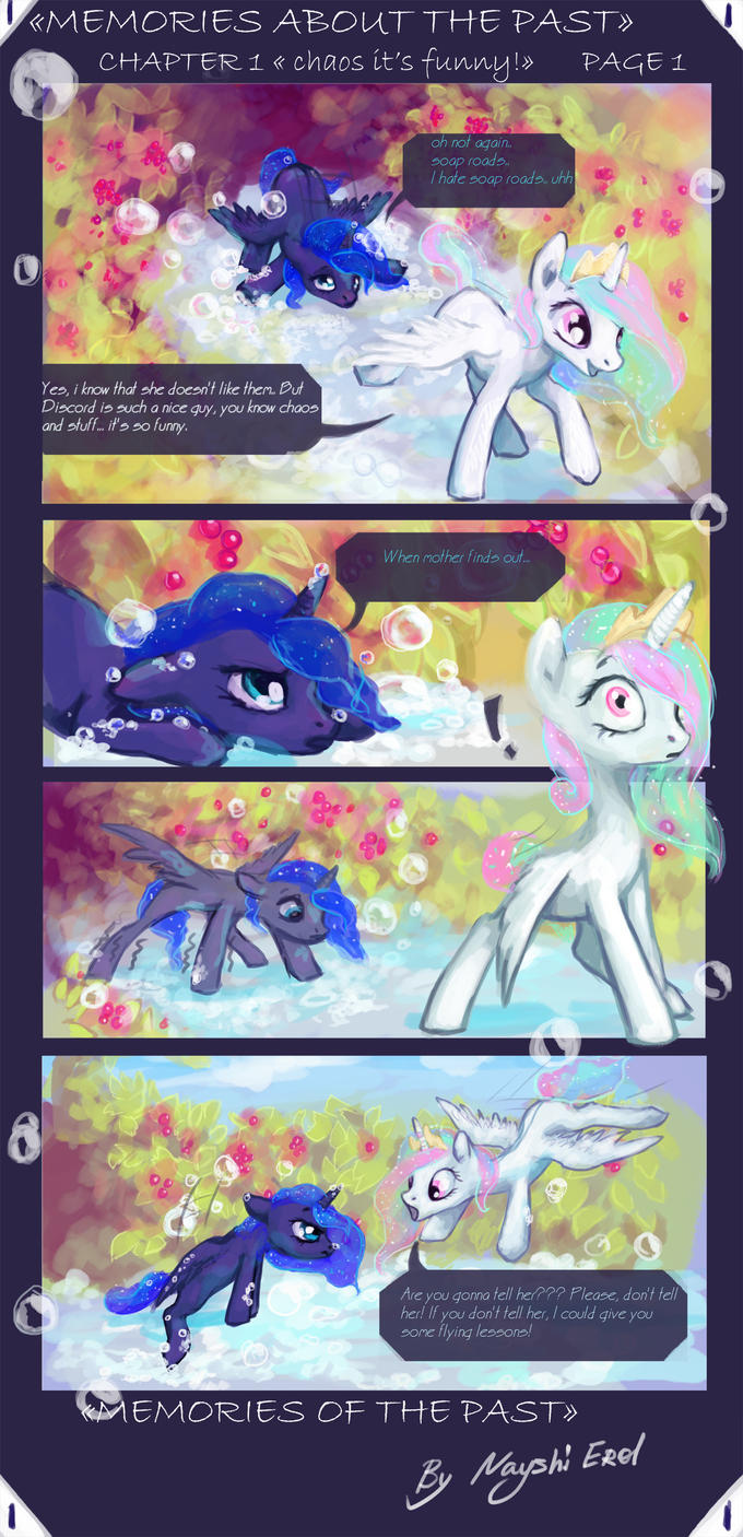 THE MEMORIES OF THE PAST - PART 1 PAGE 1