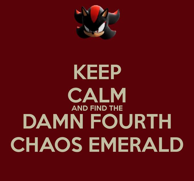 Where's that damn 4th chaos propaganda?