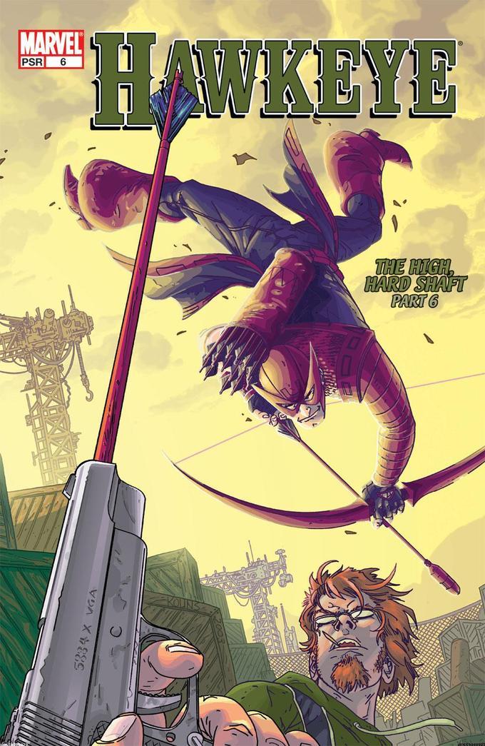 Hawkeye mini 2003 issue #6