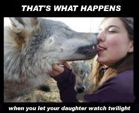 Wolf And Girl Kiss