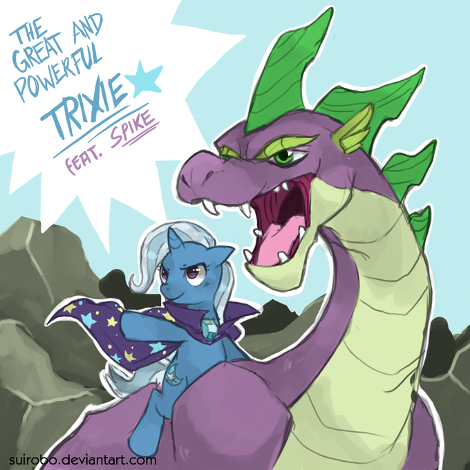 Dragon Rider Trixie