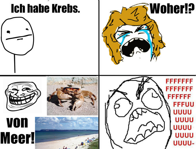German Rage Comic!