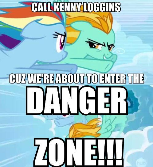 RIDE INTO THE DANGER ZONE!!!