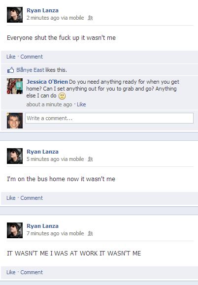 It Wasn't Ryan Lanza