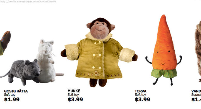 Munke - Available only at Toronto IKEA locations!