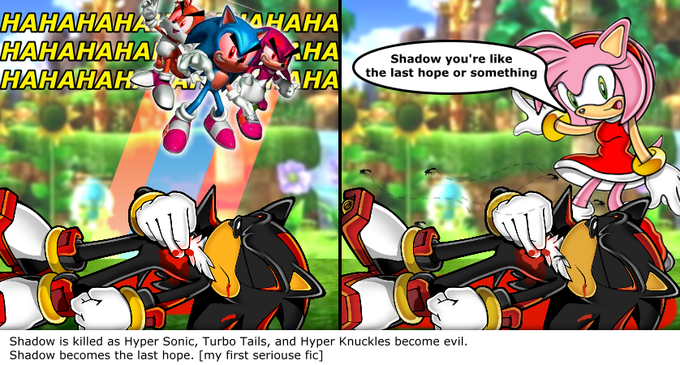 Shadow gets killed and becomes the last hope!