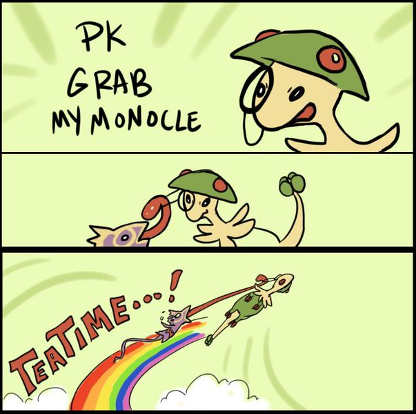 PK Grab my Monocle