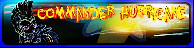 Commander Hurricane banner