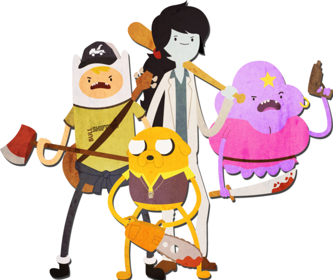 Adventure Time meets Left 4 Dead